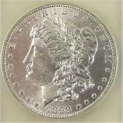 1898-P Morgan Silver Dollar