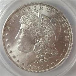 1885-O Morgan Silver Dollar  ANACS MS64