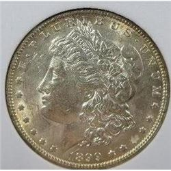 1899-P Morgan Silver Dollar