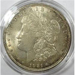 1921-P Morgan Silver Dollar
