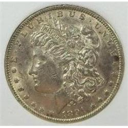 1891-CC Morgan Silver Dollar  CCGS MS