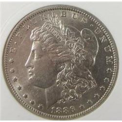 1886-O Morgan Silver Dollar  PCI MS62