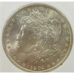 1904-O Morgan Silver Dollar  PCI MS66