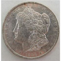 1894-O Morgan Silver Dollar