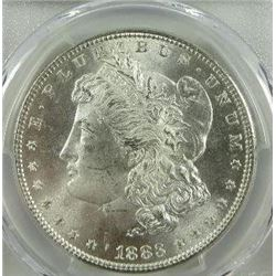 1883-P Morgan Silver Dollar  PCGS MS64+