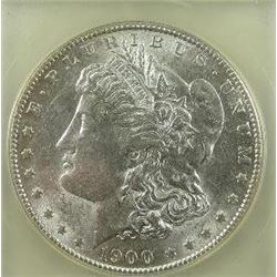 1900-S Morgan Silver Dollar  USGC MS