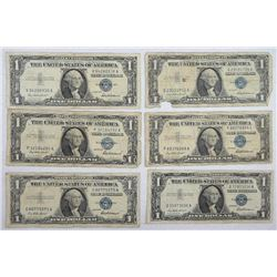 1957 $1 Silver Certificates