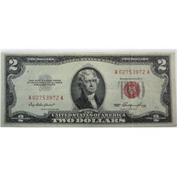 1953 $2 US Note