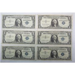 1957 A $1 Silver Certificates