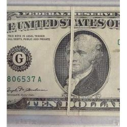 1981 $10 Federal Reserve Note Error