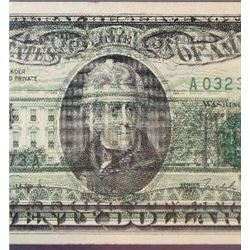 1990 $20 Federal Reserve Note Error