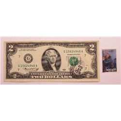 1976 $2 Federal Reserve Note