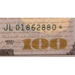 2009 $100 Federal Reserve Note