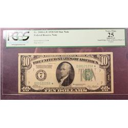 1928 $10 Federal Reserve Note