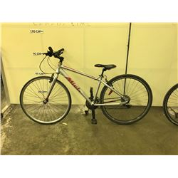 SILVER MIELE UMBRIA 19 SPEED HYBRID BIKE