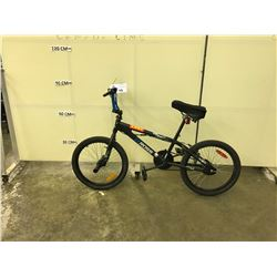 BLACK NO NAME SINGLE SPEED BMX BIKE