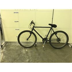 BLACK NO NAME 18 SPEED HYBRID BIKE