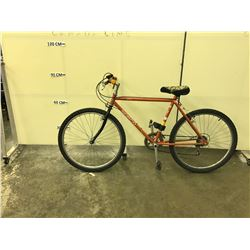 ORANGE NORCO MOUNTAINEER 12 SPEED HYBRID BIKE