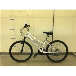 WHITE NAKAMURA INSPIRE 18SPEED FRONT SUSPENSION MOUNTAIN BIKE