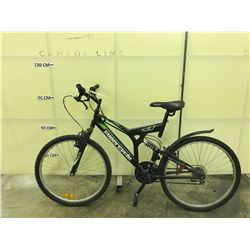 BLACK SUPERCYCLE VICE FULL SUSPENSION  MOUNTAIN BIKE