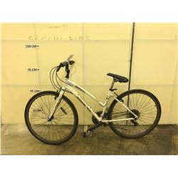 WHITE DIADORA MODENA R 21 SPEED CRUISER BIKE