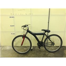 BLACK  NO NAME FRONT SUSPENSION MOUNTAIN BIKE