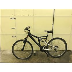 GREY NO NAME FULL SUSPENSION MOUNTAIN BIKE
