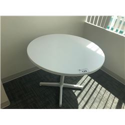 STEELCASE TURNSTONE WHITE CONFERENCE TABLE