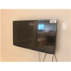 "SAMSUNG 36"" TELEVISION WITH WALL MOUNT"