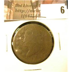 1814 U.S. Large Cent, Fair.
