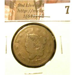 1817 U.S. Large Cent, Good.