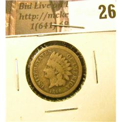 1860 U.S. Indian Cent, Good.