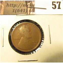 1912 S Lincoln Cent, VG.
