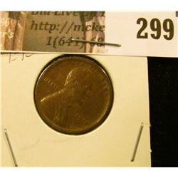 1918 P Lincoln Cent, EF.