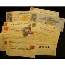 (15) Different Checks dating back to 1867 from Cooperstown, N.Y.