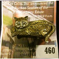"""Know a """"Crazy Cat Lady""""? Well, here's a pin she can wear as a badge of honor, or possibly as a magne"""