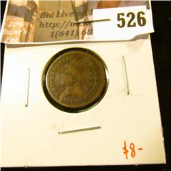 1879 Indian Head Cent, G, value $8