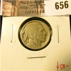 1915-S Buffalo Nickel, G, full date, value $50
