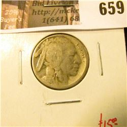 1916-S Buffalo Nickel, VG+, Value $15
