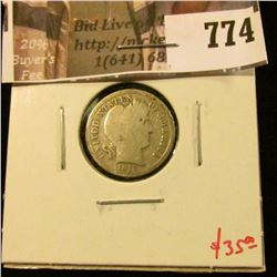 1913-S Barber Dime, G TOUGH DATE, LOW MINTAGE, getting harder to find! value $35+