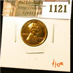 1121 . 1957 Lincoln Wheat Cent, Proof, value $10