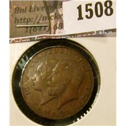 1508 . 1867-1927 60th Anniversary of Canadian Confederation Medal,