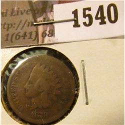 1540 . 1878 Indian Head Cent, G.