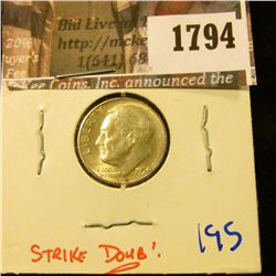 1794 . 1953-S/S/S Repunched Mint Mark.  The S Is Punched Over The S