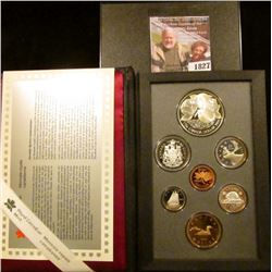1827 . Canadian 1996 Double Dollar Proof Set.  The Dollar With The