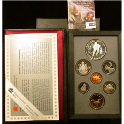 1828 . 1993 Double Dollar Canadian Proof Set.  The Dollar With The