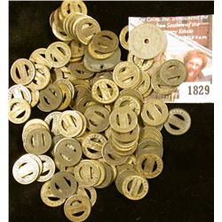 1829 . Bag Of Transit and Tax Tokens