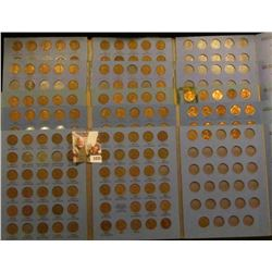 1835 . 5 Mostly Complete Number 2 Lincoln Coin Books With Coins Sta