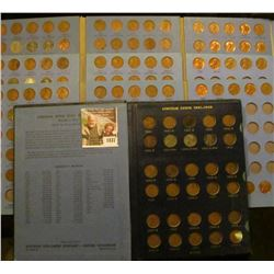 1837 . 4 Mostly Complete Number 2 Lincoln Coin Books With Coins Sta