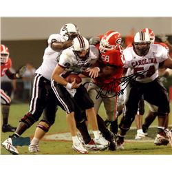 Will Thompson Signed Georgia 8x10 Photo (Radtke COA)